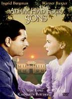 Adam Had Four Sons poster Ingrid Bergman Emilie Gallatin