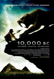 10,000 BC Poster