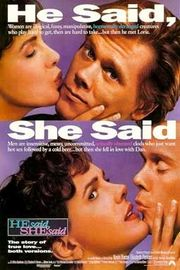 He Said, She Said Poster