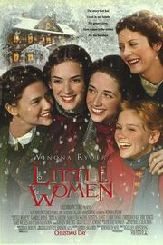 Little Women poster Winona Ryder Jo March
