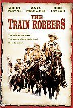 The Train Robbers Poster