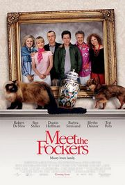 Meet The Fockers poster Robert De Niro Jack Byrnes