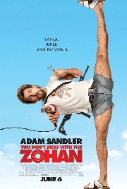 You Don&#039;t Mess with the Zohan Poster