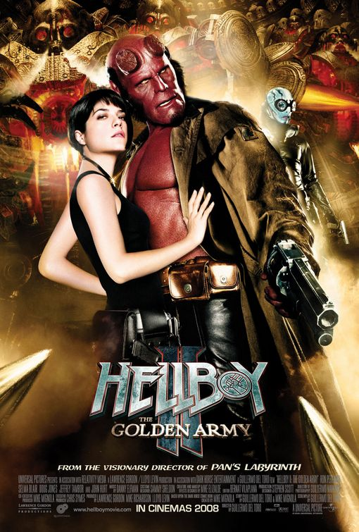 Poster del film Hellboy: The Golden Army