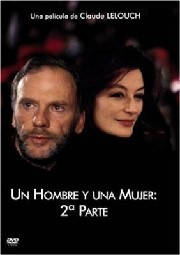 A Man And A Woman, 20 Years Later poster Anouk Aimee Anne Gauthier