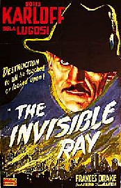 The Invisible Ray Poster