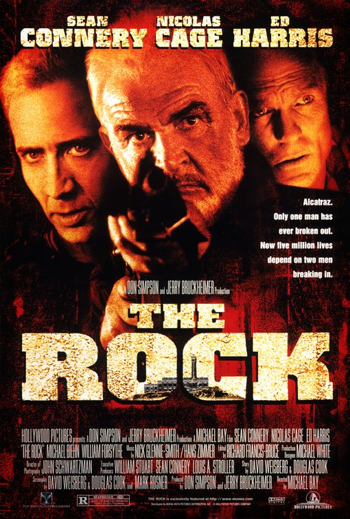 Poster del film The Rock