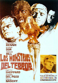 Los Monstruos del Terror (Operation Terror)(Dracula Versus Frankenstein)(The Man Who Came from Ummo)