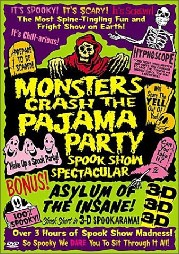 Monsters Crash the Pajama Party