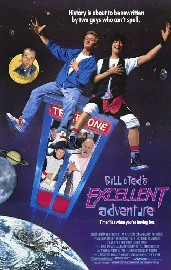 Bill &amp; Ted&#039;s Excellent Adventure Poster