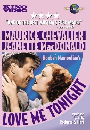 Love Me Tonight poster Maurice Chevalier Maurice Courtelin