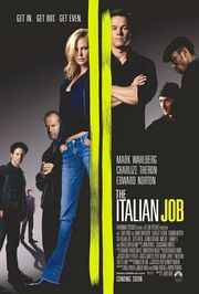 The Italian Job Poster