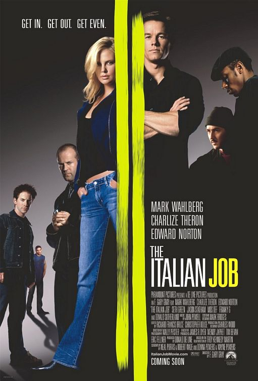 Poster del film The Italian Job