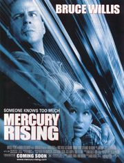 Mercury Rising Poster