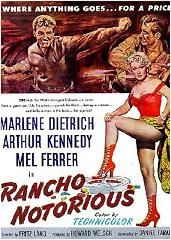 Rancho Notorious (1952) Free Watch
