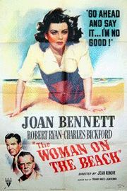 The Woman on the Beach Poster