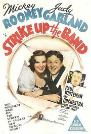 Strike Up the Band poster Mickey Rooney Jimmy Connors