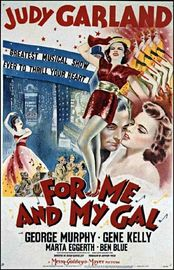 For Me And My Gal poster Judy Garland Jo Hayden