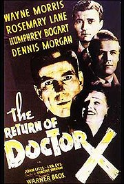 The Return of Doctor X Poster