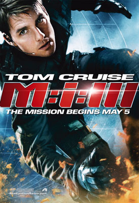 Poster del film Mission Impossible 3