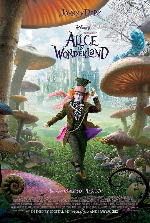 Poster del film Alice in Wonderland