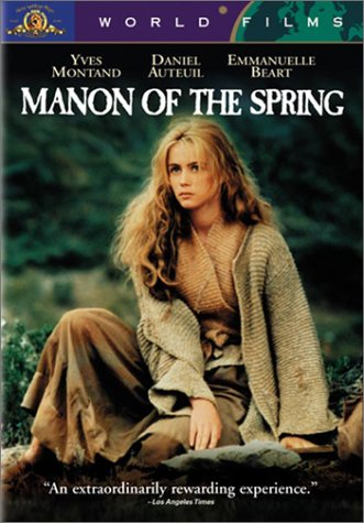 Manon des Sources (Manon of the Spring) (Jean de Florette II )