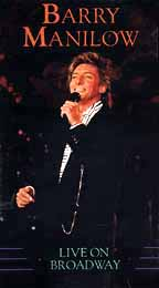 Barry Manilow - Live on Broadway