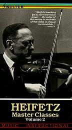 Heifetz Master Classes, The - Pt. 2