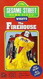 Sesame Street - Visits the Firehouse