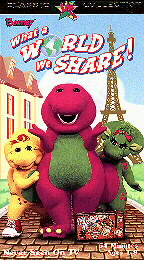 Barney - What a World We Share!