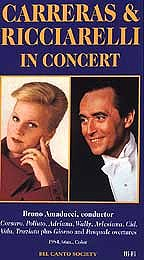 Carreras and Ricciarelli in Concert