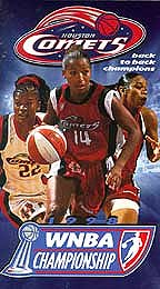 Houston Comets Back to Back Champions: 1998 WNBA Championship