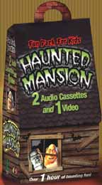Haunted Mansion Fun Pack For Kids!: 2 Audio Cassettes and 1 Video