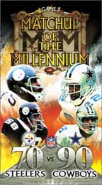 NFL Matchup of the Millennium Game 2: '70s Steelers vs. '90s Cowboys