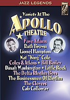 Jazz Legends - Variety at the Apollo Theatre
