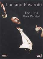 Luciano Pavarotti: The 1984 Bari Recital