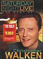 Saturday Night Live: The Best of Christopher Walken Poster