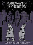 Make Way for Tomorrow poster Victor Moore Barkley 'Pa' Cooper