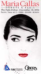 Maria Callas - The Paris Debut