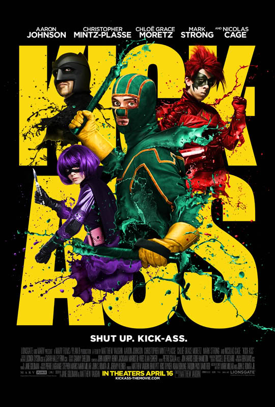 Poster del film Kick Ass
