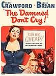 The Damned Don&#039;t Cry Poster