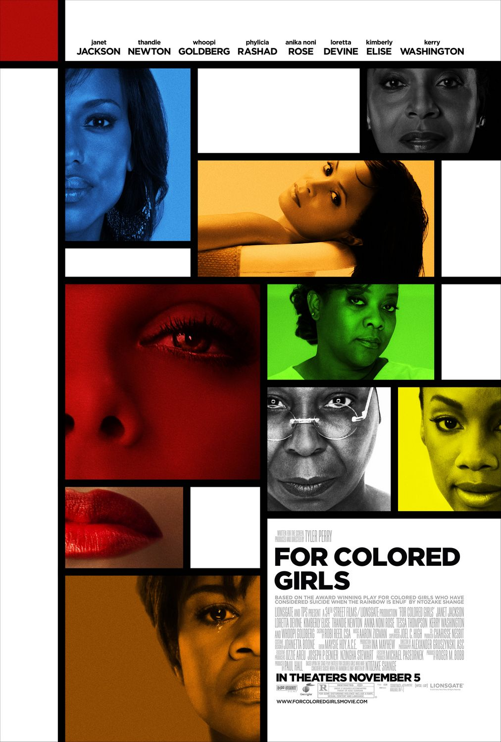 For Colored Girls Cover