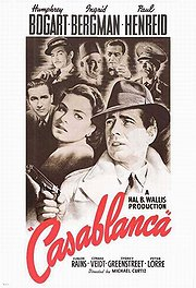 Casablanca Poster