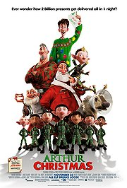 Arthur Christmas Poster