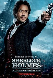 Sherlock Holmes: A Game of Shadows Poster