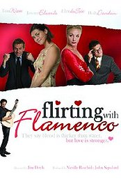 Flirting With Flamenco poster Tom Watt