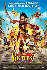The Pirates! Band of Misfits Poster