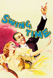 Swing Time poster Fred Astaire John