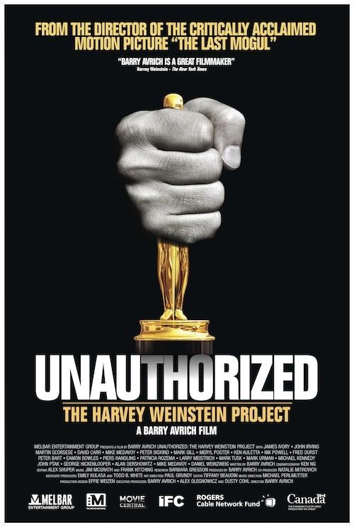 Unauthorized: The Harvey Weinstein Project Cover
