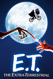 E.T. The Extra-Terrestrial (1982) Science Fiction, Fantasy (BluRay)